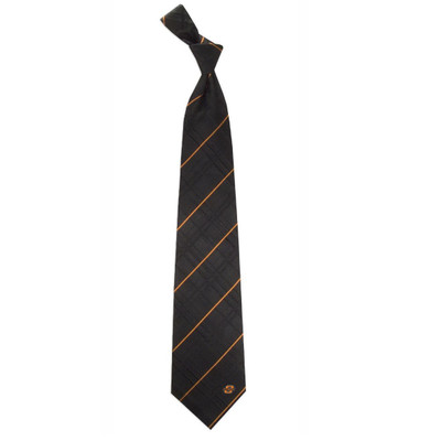 Oklahoma State Cowboys Oxford Woven Silk Tie
