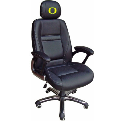 Oregon Ducks Leather Office Chair