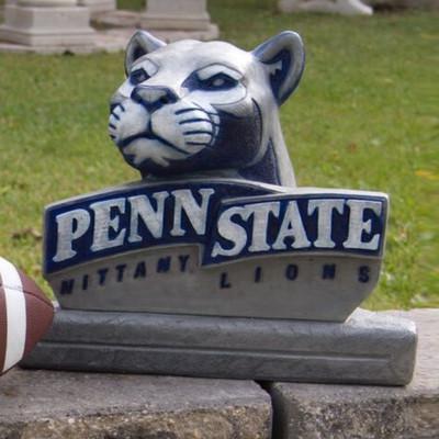 Penn State Nittany Lions Mascot Garden Statue