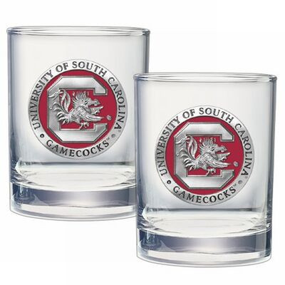 South Carolina Gamecocks Cocktail Glasses