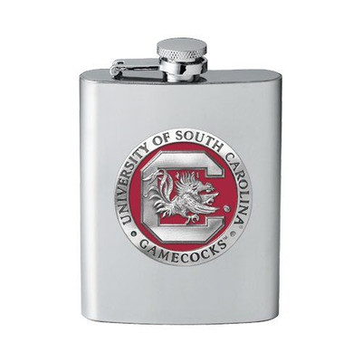 South Carolina Gamecocks Flask | Heritage Pewter | FFS10165E