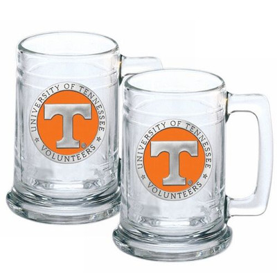 Tennessee Volunteers Beer Mug Set of Two
