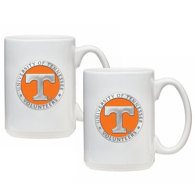 Tennessee Volunteers Coffee Mug Set of 2