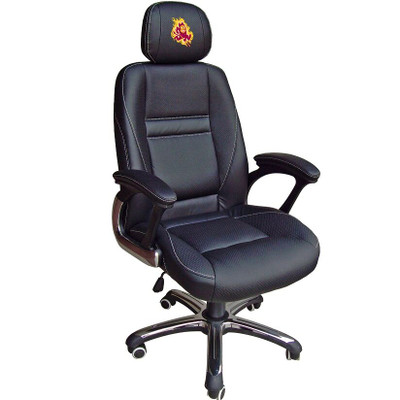 Arizona State Sun Devils Leather Office Chair