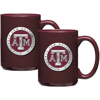 Texas A&M Aggies Coffee Mug Set of 2