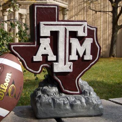 Texas A&M Aggies Mascot Garden Statue