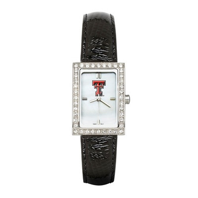 Texas Tech Red Raiders Women's Leather Strap Watch