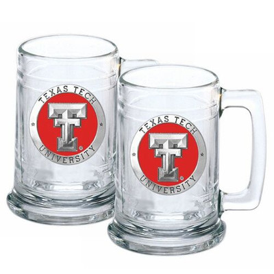 Texas Tech Red Raiders Beer Mug (Set of Two)