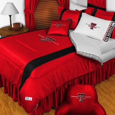 Texas Tech Red Raiders Comforter | Sports Coverage | 04JSCOM4TXT