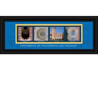 UCLA Bruins Campus Letter Art Print