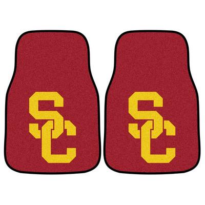 USC Trojans Carpet Floor Mats