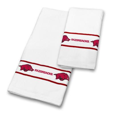 Arkansas Razorbacks Bath Towel Set