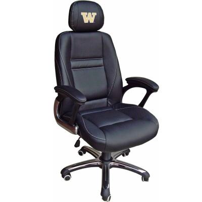 Washington Huskies Leather Office Chair