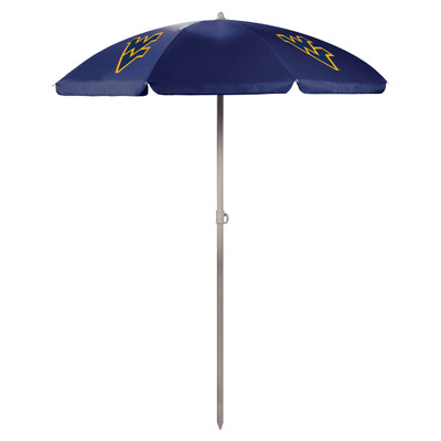 West Virginia Mountaineers Beach Umbrella