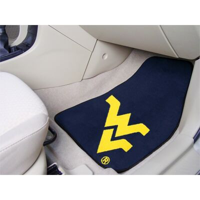 West Virginia Mountaineers Carpet Floor Mats