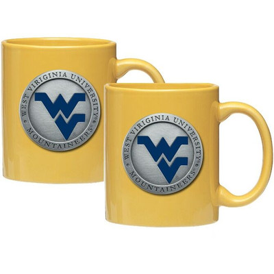 West Virginia Mountaineers Coffee Mug Set of 2
