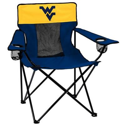 West Virginia Mountaineers Elite Tailgate Chair  sc 1 st  College Logo Stuff & West Virginia Mountaineers Color Tailgate | Logo Chair