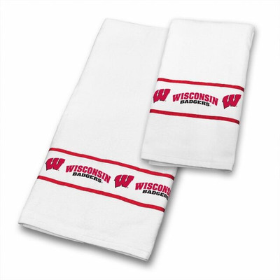 Wisconsin Badgers Bath Towel Set