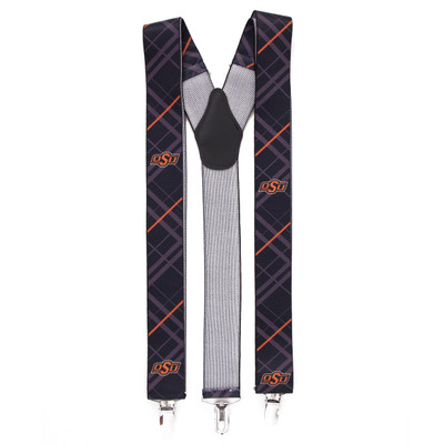 Oklahoma State Cowboys Oxford Suspenders | Eagles Wings | 8088