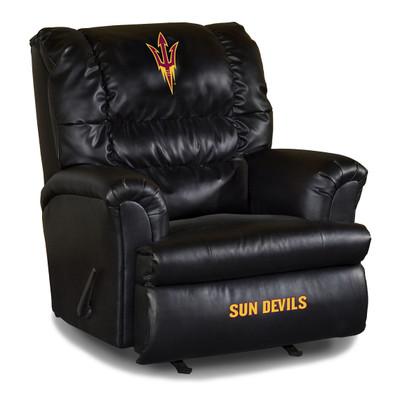 ASU Sun Devils Leather Big Daddy Recliner