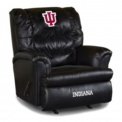 Indiana Hoosiers Leather Big Daddy Recliner