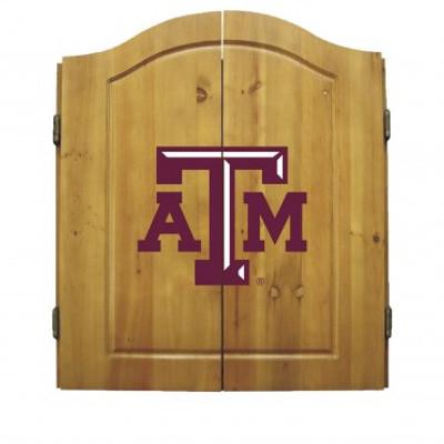 Texas A&M Aggies Dart Board Cabinet
