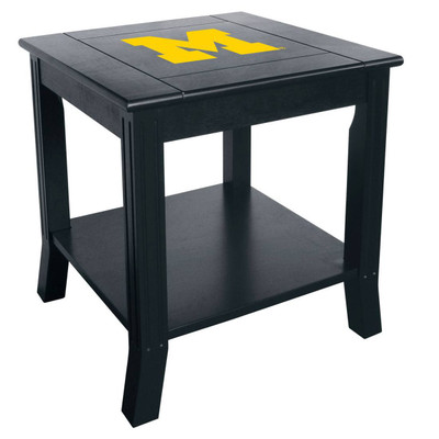 Michigan Wolverines Side Table