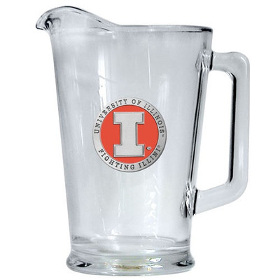 Illinois Fighting Illini Beer Pitcher | Heritage Pewter | PI10269EO