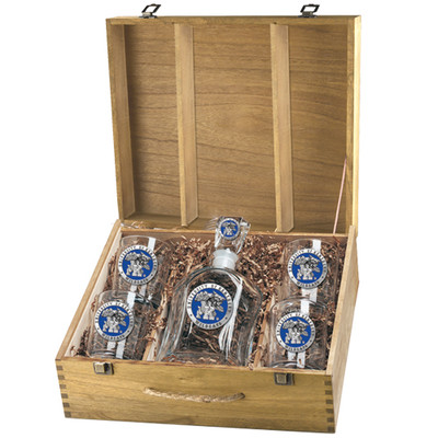 Kentucky Wildcats Decanter Box Set