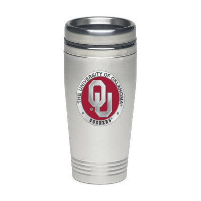 Oklahoma Sooners Thermal Mug | Heritage Pewter | TD10194ER
