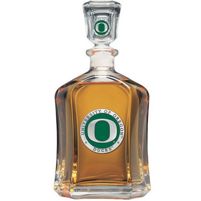 Oregon Ducks Capitol Decanter
