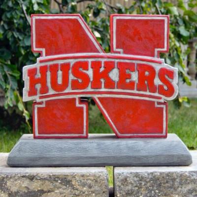 Nebraska Huskers Mascot Garden Statue