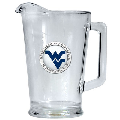 West Virginia Mountaineers Beer Pitcher