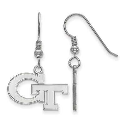 Georgia Tech Sterling Silver Dangle Earrings