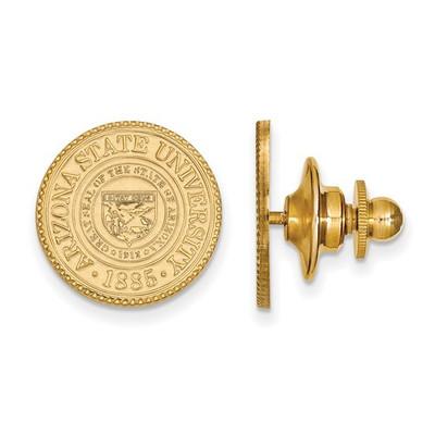 Arizona State Crest Sun Devils 14K Gold Lapel Pin