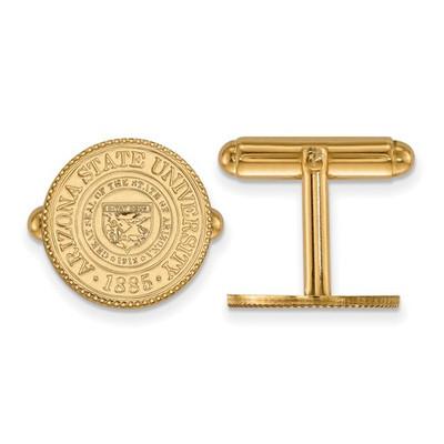 Arizona State Crest Sun Devils 14K Gold Cufflinks