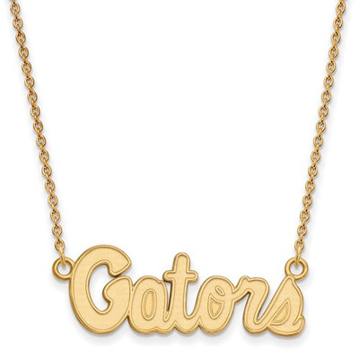 Florida Gators 14K Gold Pendant Necklace