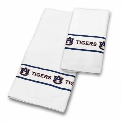 Auburn Tigers Bath Towel Set | Sports Coverage | 04CTTWS4AUBSETS