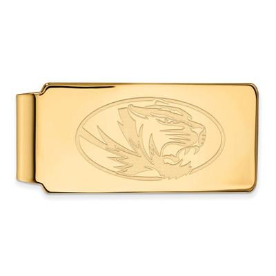 Missouri Tigers 14K Gold Money Clip