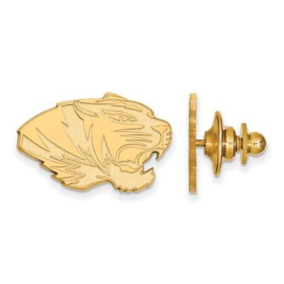 Missouri Tigers 14K Gold Lapel Pin