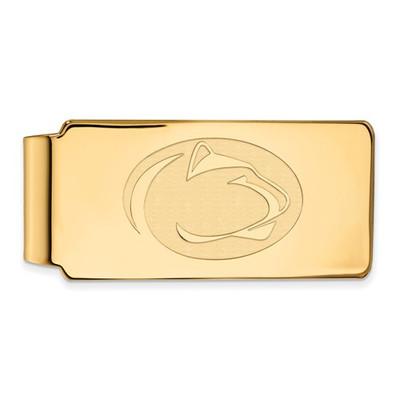 Penn State Nittany Lions 14K Gold Money Clip