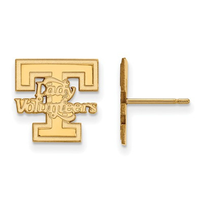 Tennessee Lady Volunteers 14K Gold Post Earrings