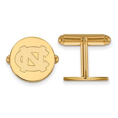 North Carolina Tarheels UNC 14K Gold Cufflinks