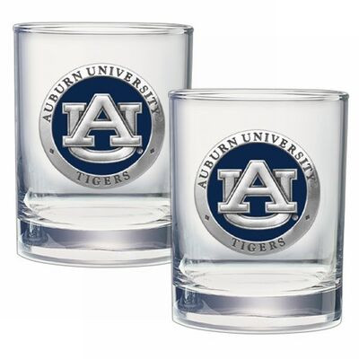 Auburn Tigers Cocktail Glasses