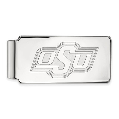 Oklahoma State Cowboys Sterling Silver Money Clip