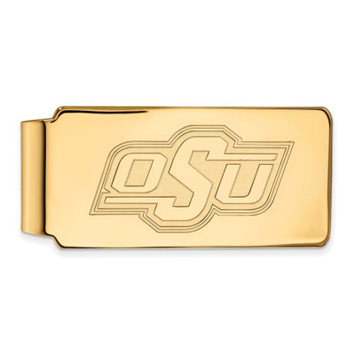 Oklahoma State Cowboys 14K Gold Money Clip