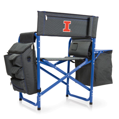 Illinois Fighting Illini Fusion Tailgating Chair