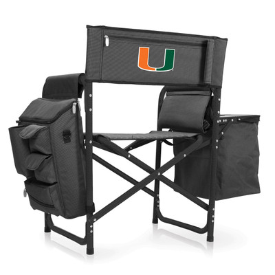 Miami Hurricanes Fusion Tailgating Chair