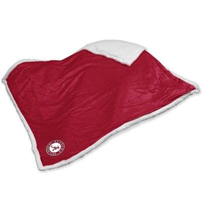 Alabama Crimson Tide Embroidered Sherpa Throw Blanket