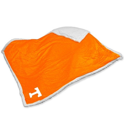 Tennessee Volunteers Embroidered Sherpa Throw Blanket